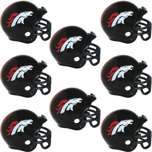 Denver Broncos Helmets 8ct