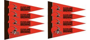 Cleveland Browns Pennants 8ct