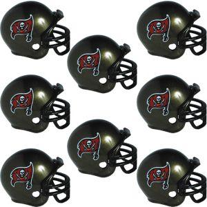 Tampa Bay Buccaneers Helmets 8ct