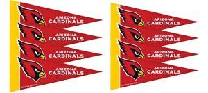 Arizona Cardinals Pennants 8ct