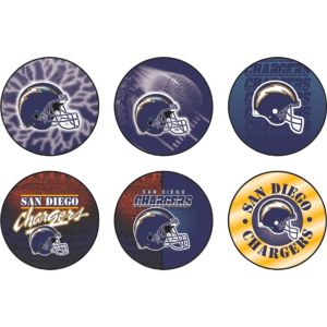 San Diego Chargers Buttons 6ct