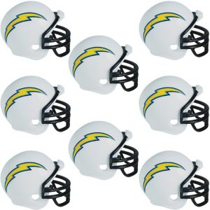 Los Angeles Chargers Helmets 8ct