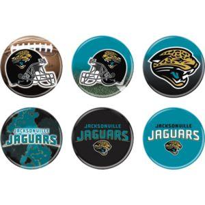 Jacksonville Jaguars Buttons 6ct