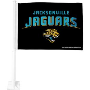 Jacksonville Jaguars Car Flag
