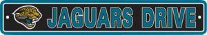 Jacksonville Jaguars Street Sign