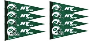 New York Jets Pennants 8ct