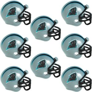 Carolina Panthers Helmets 8ct