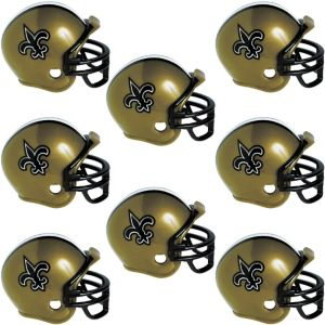 New Orleans Saints Helmets 8ct
