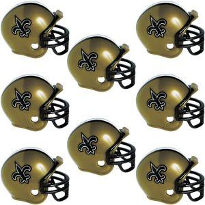 New Orleans Saints Helmets 8ct