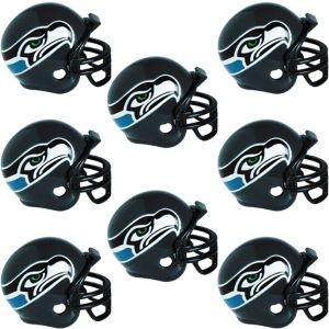Seattle Seahawks Helmets 8ct
