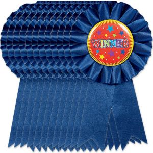 Winner Ribbons 12ct