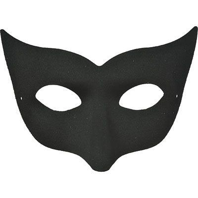 Black Champagne Masquerade Mask