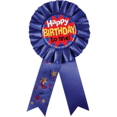 Happy Birthday to Me Award Ribbon