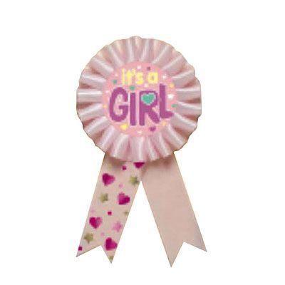It's a Girl Award Ribbon