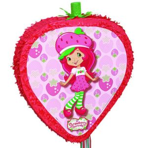 Pull String Strawberry Shortcake Pinata