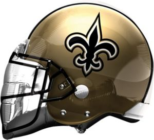 New Orleans Saints Balloon - Helmet