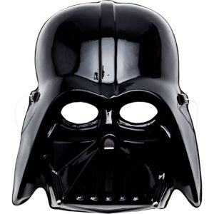 Molded Plastic Darth Vader Mask