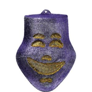 3D Glitter Comedy Mask Decoration