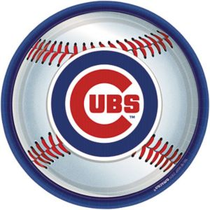 Chicago Cubs Lunch Plates 18ct