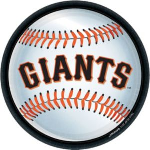 San Francisco Giants Lunch Plates 18ct
