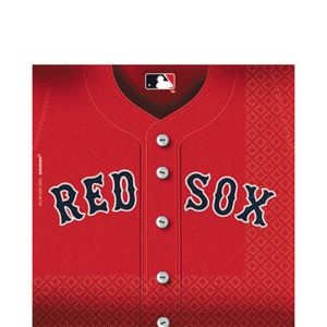 Boston Red Sox Lunch Napkins 36ct