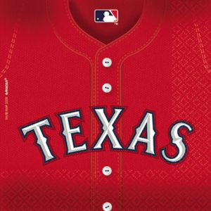 Texas Rangers Lunch Napkins 36ct