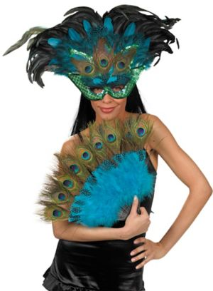 Peacock Mask and Fan Kit