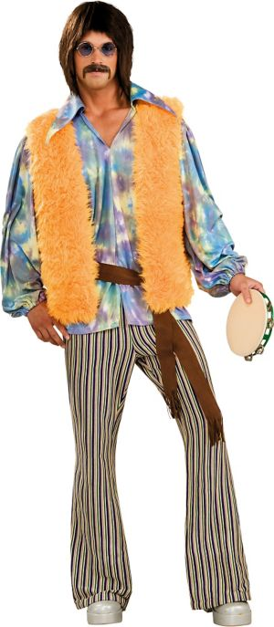 Adult Hippie Dude Costume