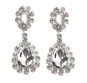 Faux Diamond Earrings