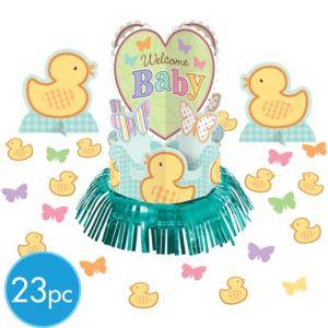 Tiny Bundle Baby Shower Centerpiece Kit 23pc