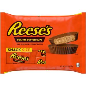 Milk Chocolate Reese's Peanut Butter Cup Snack Size Chocolates 14ct