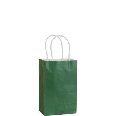 Festive Green Kraft Bag