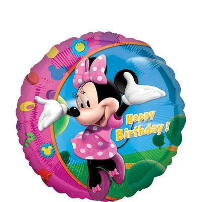 Happy Birthday Minnie Mouse Balloon