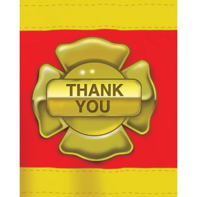 Firefighter Thank You Notes for 8