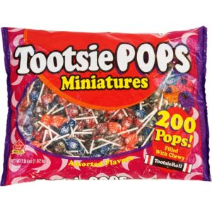 Mini Tootsie Pops 200ct