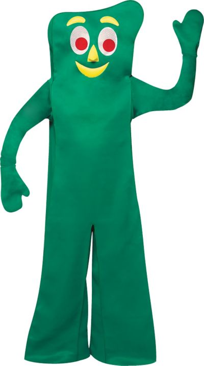 gumby costume for adults party city