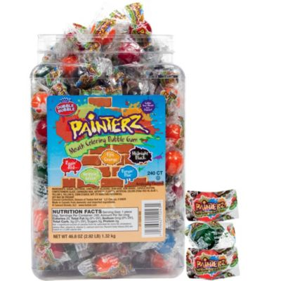 Dubble Bubble Painterz Gumballs 240ct