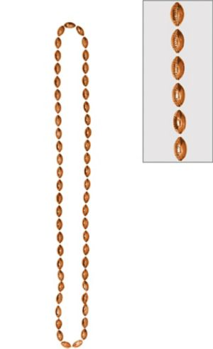 Football Bead Necklace