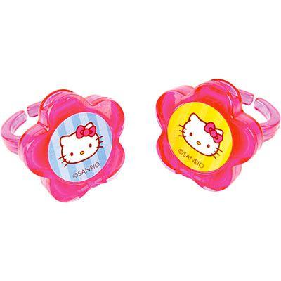 Hello Kitty Lip Gloss Rings 2ct