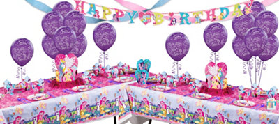 My Little Pony Deluxe Party Kit for 16 Guests