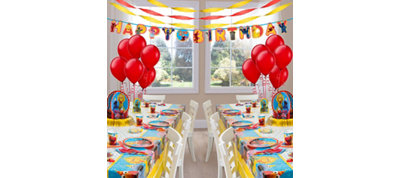 Sesame Street Party Supplies Deluxe Party Kit