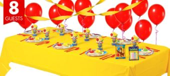 Curious George Basic Party Kit for 8 Guests