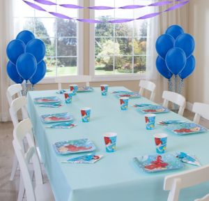 Little Mermaid Basic Party Kit for 8 Guests