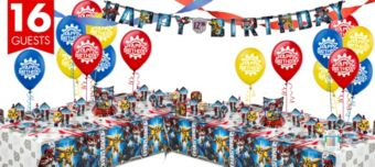 Transformers Deluxe Party Kit for 16 Guests