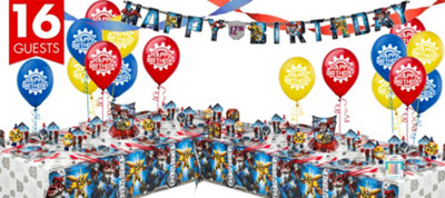 Transformers Party Supplies Deluxe Party Kit