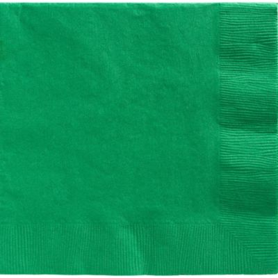 Festive Green Dinner Napkins 20ct