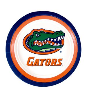 Florida Gators Dessert Plates 12ct