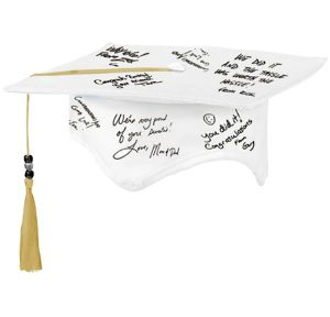 Graduation Autograph Cap with Pen