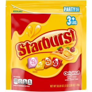 Starburst Fruit Chews 54oz