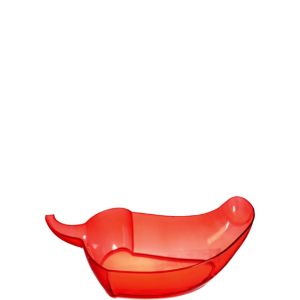 Plastic Chili Pepper Bowl